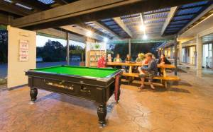 The pool table is always popular