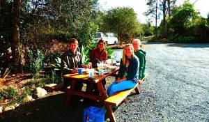 B&B Kerikeri picnic table