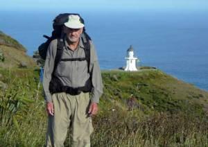 Bob Kennedy at Cape Reinga Lighthouse
