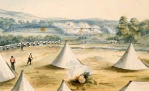 British assault on Hone Heke's pa