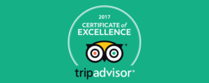 Hone Heke Lodge budget accommodation awarded 2017 Certificate of Excellence