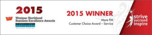 Winner of 2015 Customer Choice Award - Hone Heke Lodge backpackers Kerikeri