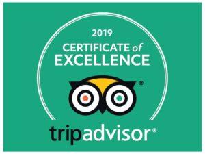 Hone Heke Lodge Flashpackers Trip Advisor Certificate of Excellence