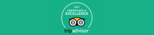 TripAdvisor 2017 Certificate of Excellence awarded to Hone Heke Lodge Kerikeri backpackers