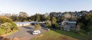 Aerial view of Hone Heke Lodge